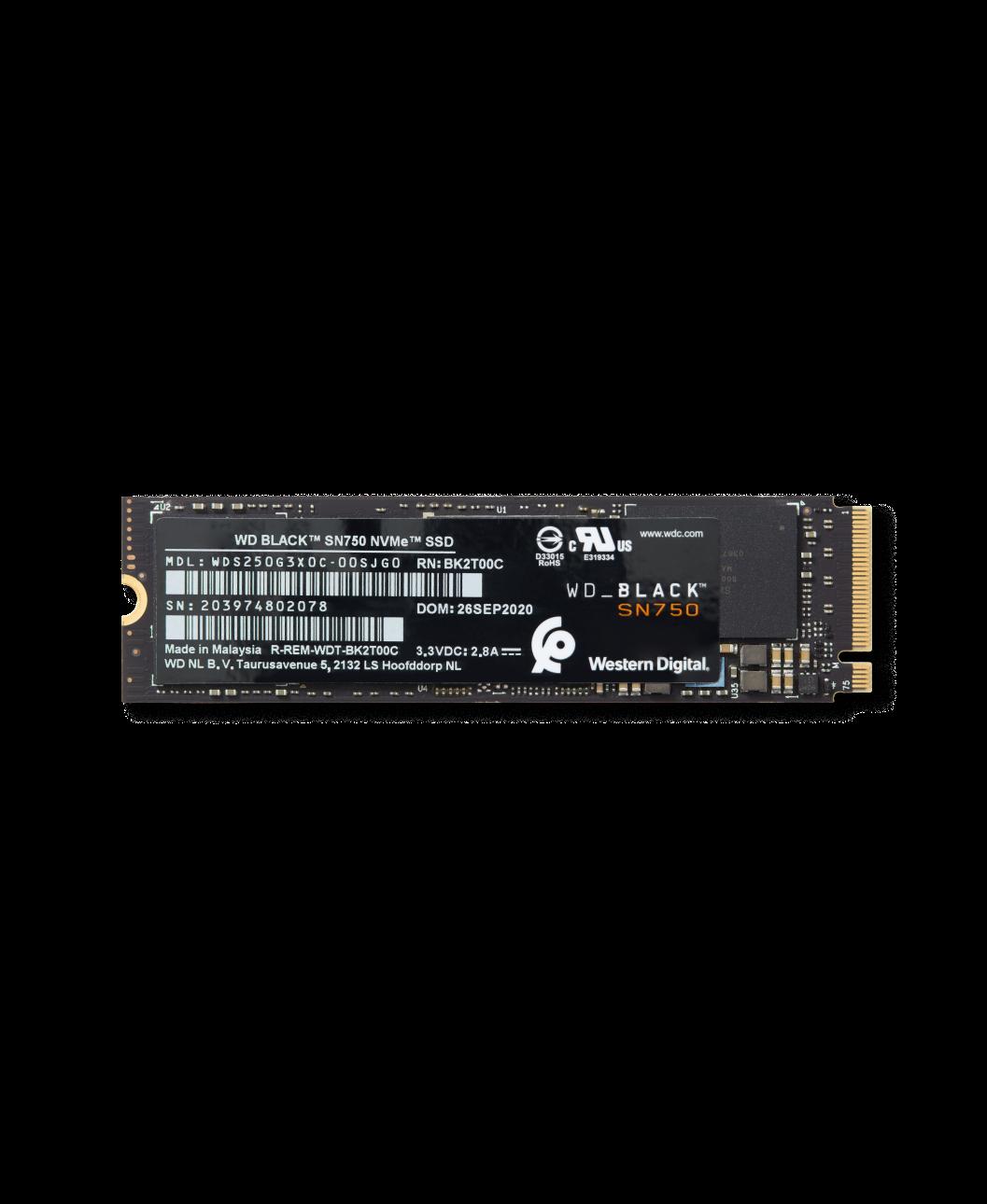 WD_BLACK™ SN750 NVMe™