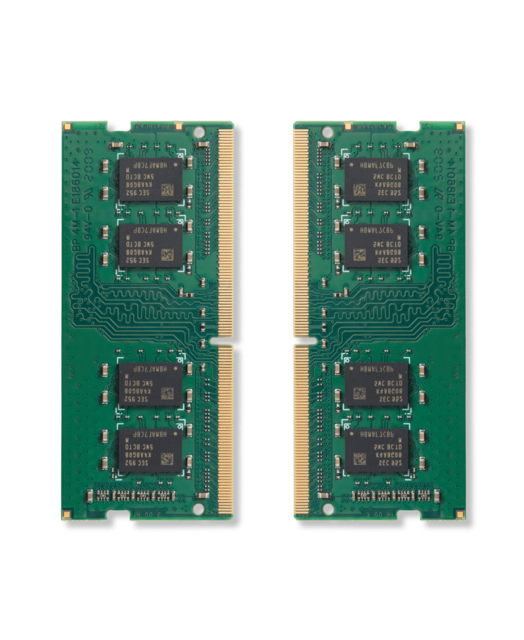 2 sticks of RAM