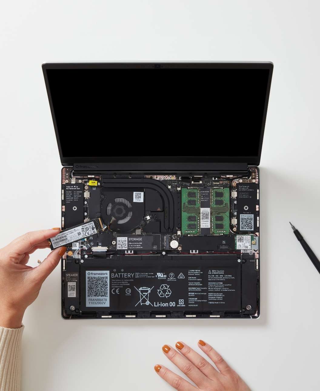 Storage install