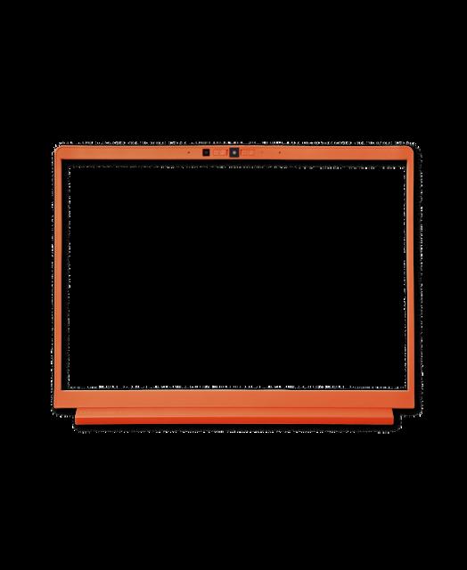 Laptop Bezel Orange