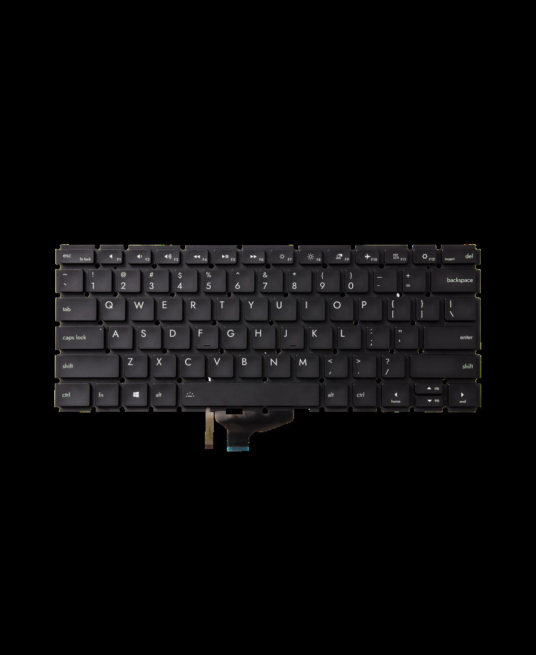 Framework Keyboard English International Black