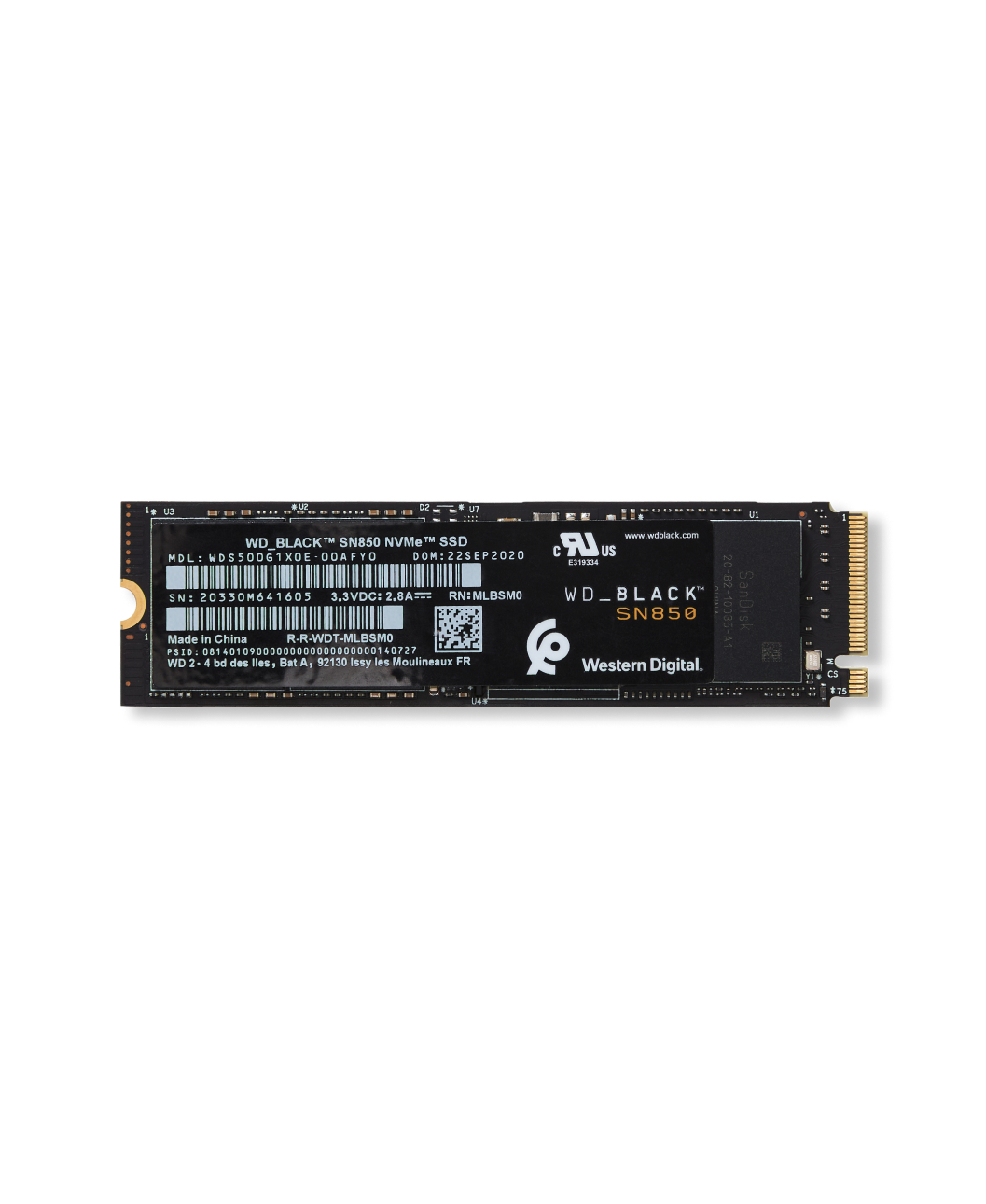 WD_BLACK™ SN850 NVMe™